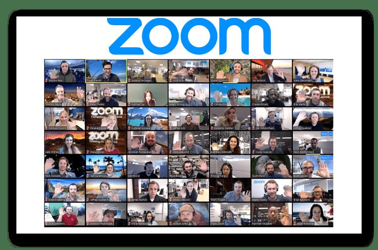 Картинка Большая конференция в Zoom