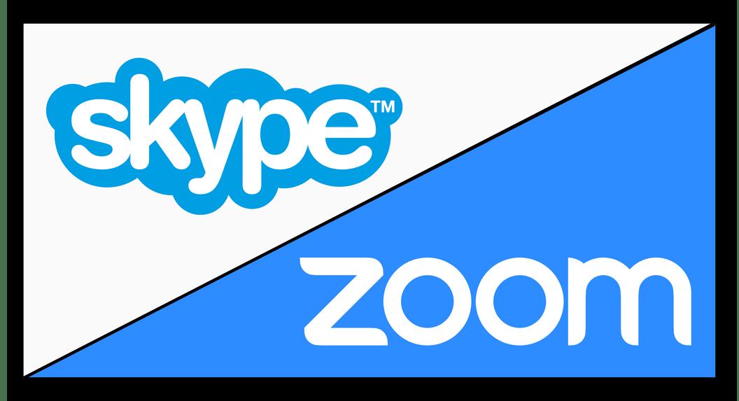 Картинка Сравнение Zoom и Skype