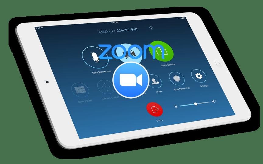 Картинка Zoom для iPad