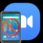 Почему в приложении Zoom нет звука на Андроид