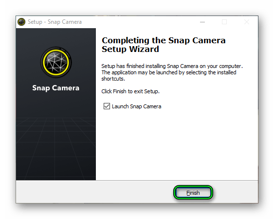 Установка Snap Camera для Windows