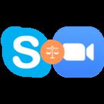 Zoom или Skype